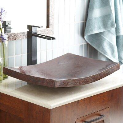 Maestro Metal Rectangular Vessel Bathroom Sink