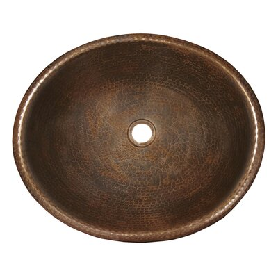 Rolled Classic Oval Vessel Bathroom Sink