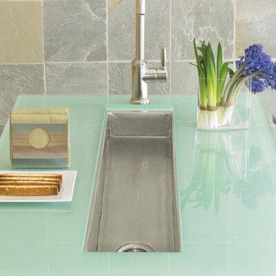 50 x 11 Rio Grande Copper Bar Sink Finish: Brushed Nickel
