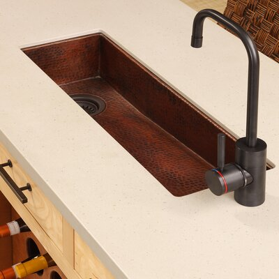 Renewal 30 x 11 Rio Chico Copper Bar Sink Finish: Antique Copper