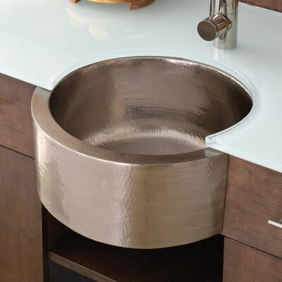 19 x 19 Fiesta Copper Bar Sink Finish: Brushed Nickel