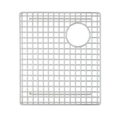 Sink 10.5 x 15 Bottom Sink Grid Finish: Stainless Steel