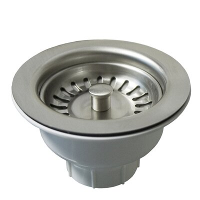 Basket Strainer Finish: Brushed Nickel