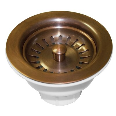Basket Strainer Finish: Solid Copper