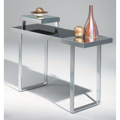 (iron console table) Johnston Casuals Mondrian Contemporary Console Table