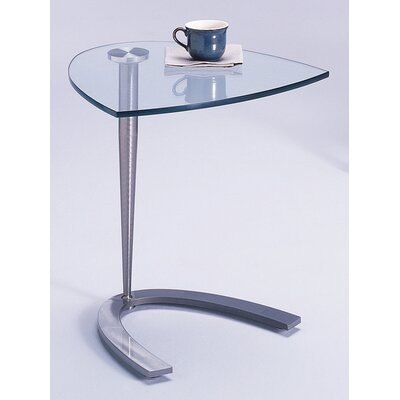 Buy Low Price Johnston Casuals Quest Vegas End Table Metal Finish: Pewter (as shown) (JCS1416_2450884)