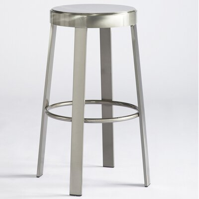 "No credit check financing Svinn 30"" Steel Round Barstool..."