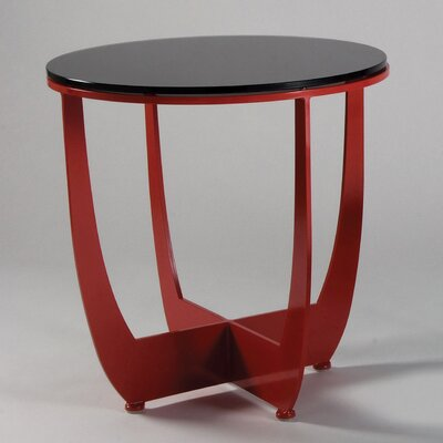 Have you seen these unique end tables for Caprice marble dining table