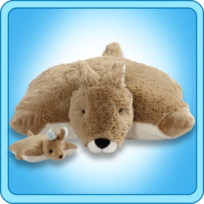 Kangaroo and Baby Pillow Pet