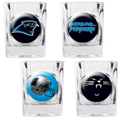 4 Piece NFL Collector's Shot Glass Set 41103