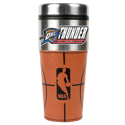 Great American Products NBA 16oz Stainless Steel Gameball Travel Tumbler - NBA Team: Oklahoma City Thunder at Sears.com
