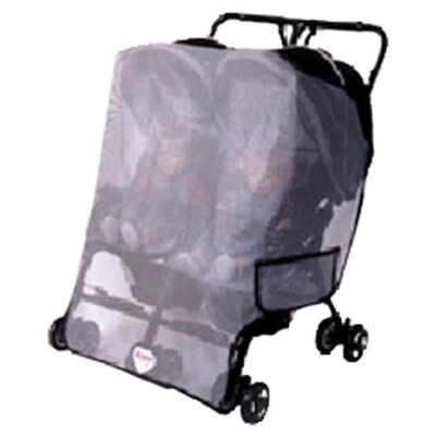 Sasha's Kiddie Products Generic Double Side by Side / Twin Stroller Sun, Wind and Insect Cover at Sears.com