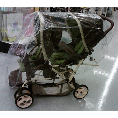 Sasha's Kiddie Products Tandem (Front and Back) Stroller Rain and WeatherBug Cover at Sears.com