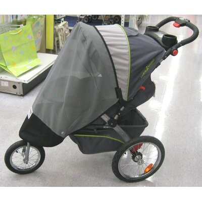Sasha's Kiddie Products Baby Trend Single Front Swivel Wheel Expeditions, and Ride Jogger Canopy at Sears.com