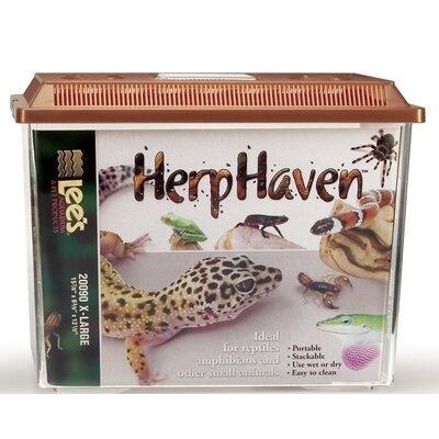 "Lees Aquarium & Pet Herpharven Rectangle Reptile Home - Size: Medium (8"" H x 7.75"" W x 11.75"" D) at Sears.com"
