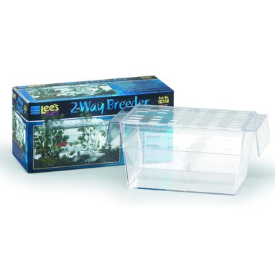 2-Way Guppy Breeder Aquarium Tank (Set of 2)