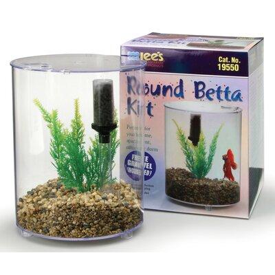 Buy low price lees aquarium pet mini round aquarium for Betta fish food walmart