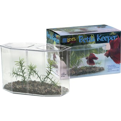 0.47 Gallon Large Aquarium Betta Keeper Aquarium Tank