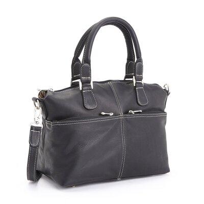 """Luxury 5"""" Weekender Duffel Bag Color: Black"""