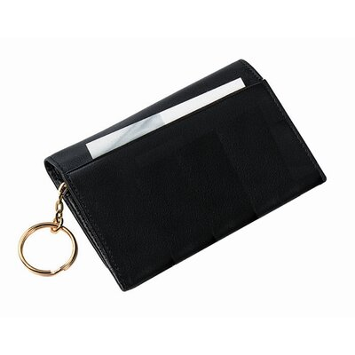 Wallet with Removable Key Ring
