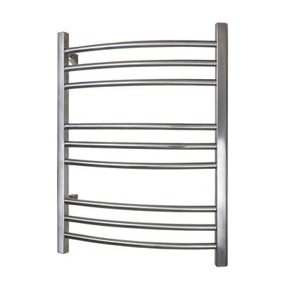 Riviera Hard-wire Towel Warmer Finish: Brushed Stainless Steel