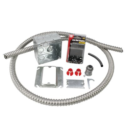Electrical Rough-in Kit without Conduit