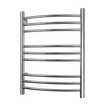 Riviera Hard-wire Towel Warmer Finish: Polished Stainless Steel