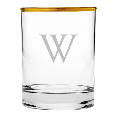 Personalized Old Fashioned Glass WAY-G0012-813-4