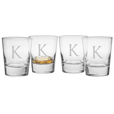 Monogram Double Old Fashioned Glass