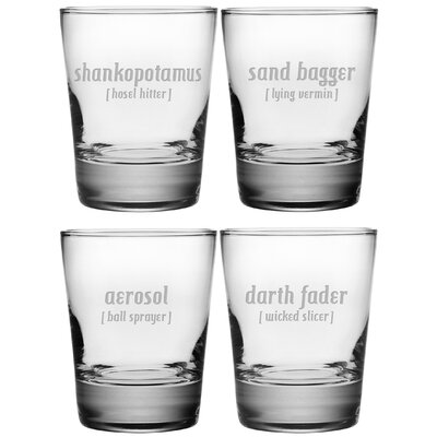 What a Shot Double Old Fashioned Glass WAY-8308-857-4