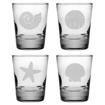 Seashore Double Old Fashioned Glass Set WAY-8308-660-4