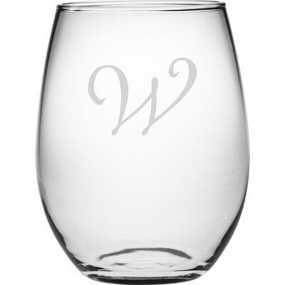 Personalized 4 Piece 21 Oz. Stemless Wine Glass WAY-9542-812-4