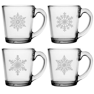 Paper Snowflakes Coffee Mug THDA4818 42670649