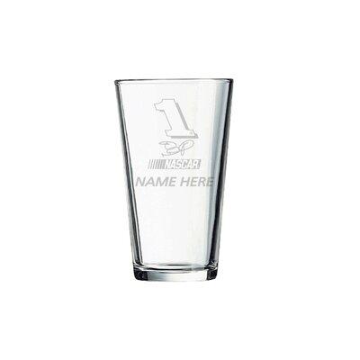 Nascar Individual 16 Oz. Mixing Glass  Jamie Mcmurray