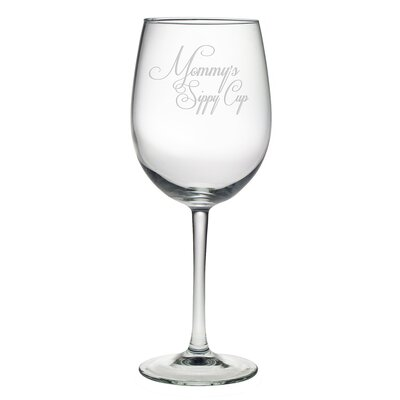 Mommy's Sippy Cup Wine Glass WAY-4584-604-4