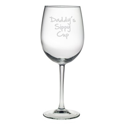 Daddy's Sippy Cup Wine Glass WAY-4584-609-4