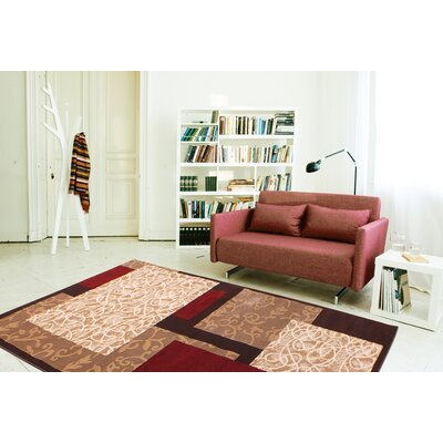 Dacian Light Beige Area Rug Rug Size: 5 x 8