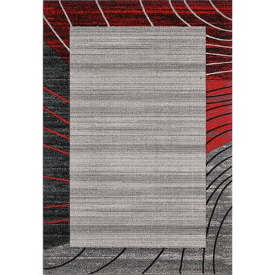 Sahara Gray Area Rug Rug Size: 5 x 8
