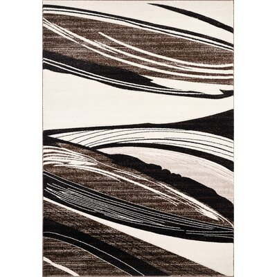 Sahara Brown Area Rug Rug Size: 5 x 8