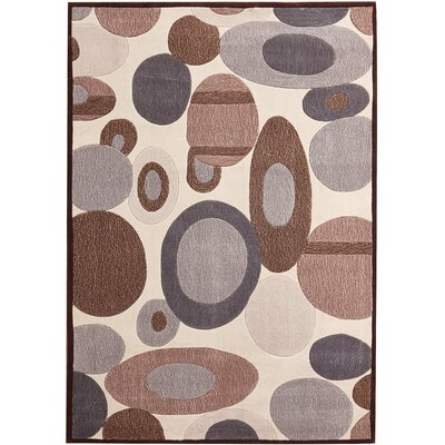 Evelyn Hand-Tufted Beige Indoor Area Rug