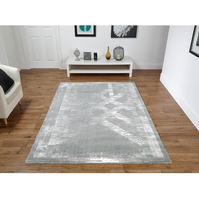 Singleton Gray Area Rug Rug Size: Rectangle 2 x 3
