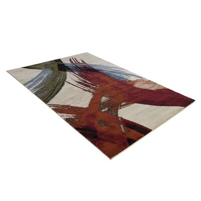 Pichardo Cream Area Rug Rug Size: Rectangle 53 x  76