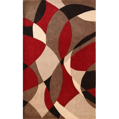 Virginia Norfolk Rug Rug Size: 53 x 76