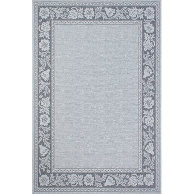Bahamas Anthracite Outdoor Area Rug Rug Size: 5' x 7'