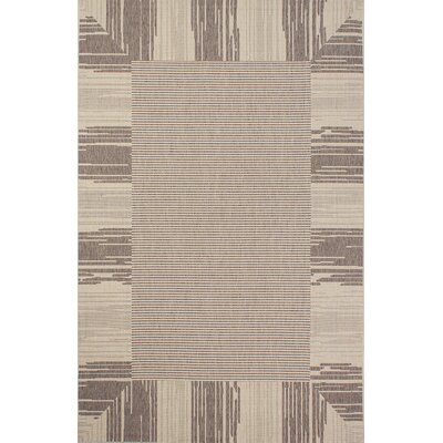 Bahamas Light Brown Area Rug Rug Size: 5 x 7