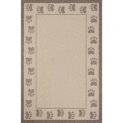Bahamas Light Brown Area Rug Rug Size: Rectangle 5 x 7
