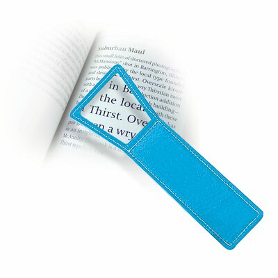 Magnifying Bookmark  (Set of 4) Color: Blue 8236-Blue
