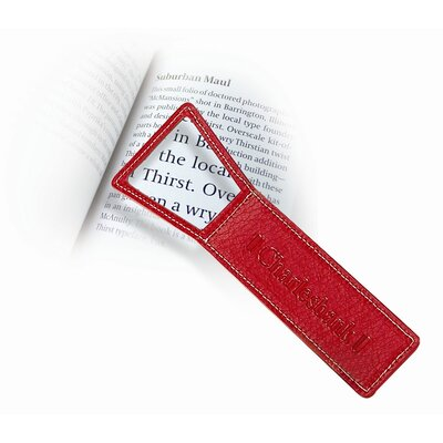 Magnifying Bookmark  (Set of 4) Color: Red 8236-Red