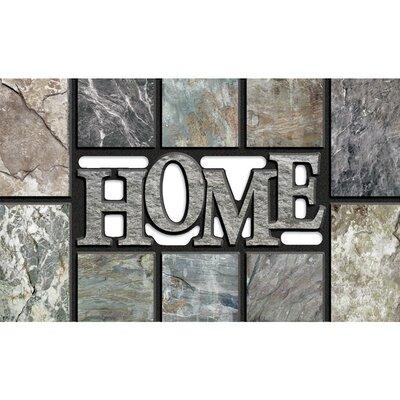 Masterpiece Home Doormat Color: Gray