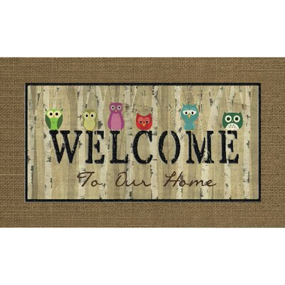 Masterpiece Welcome Doormat